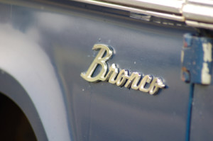 Bronco Badge